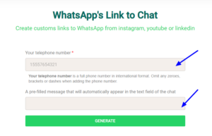 How To Add WhatsApp Link To Instagram Bio 5