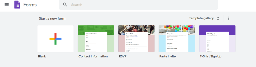Google Form Dashboard