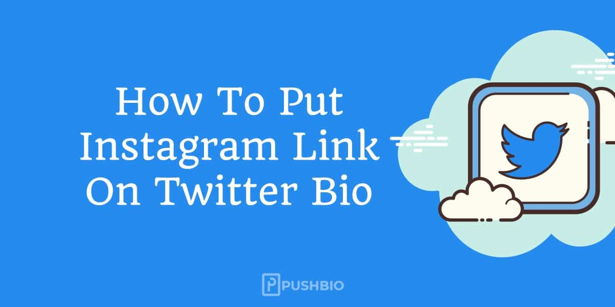 How To Put Instagram Link On Twitter Bio